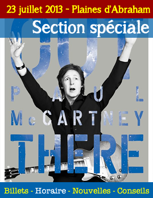 Paul McCartney sur les Plaines - Section spciale