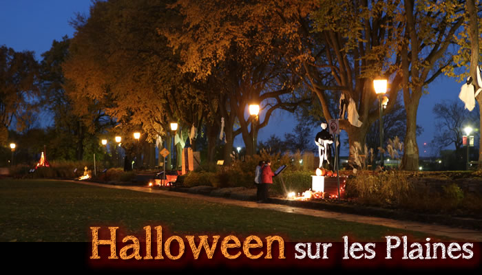 Halloween sur les Plaines