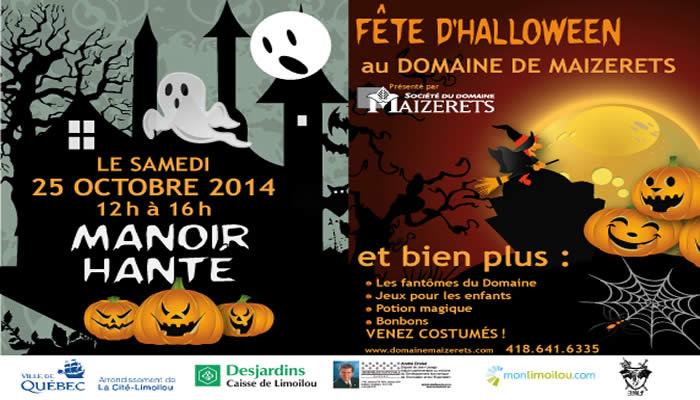 Halloween au Domaine de Maizerets