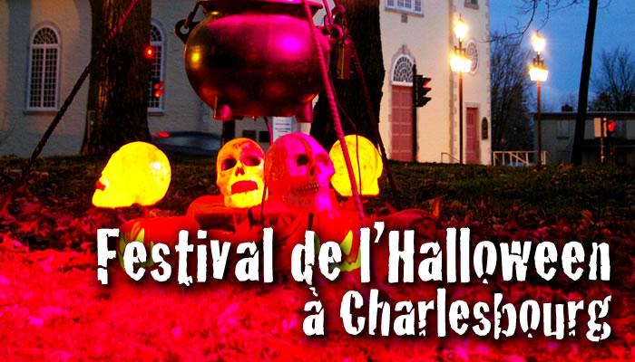 Festival de l'Halloween à Charlesbourg