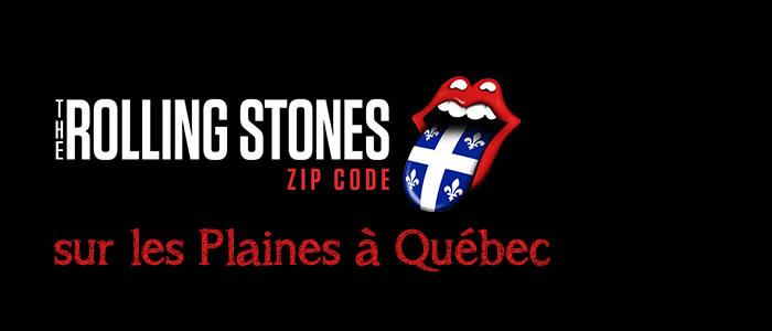 Les Rolling Stones à Québec