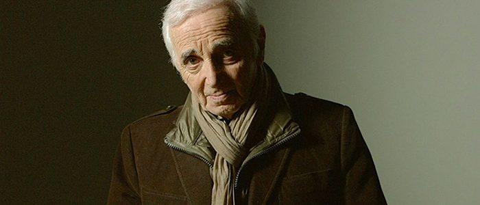 Charlez Aznavour au Centre Vidéotron