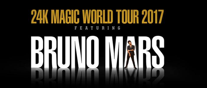 Bruno Mars à Québec
