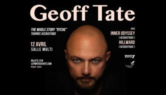 Geoff Tate (ex-Queensrÿche) en spectacle acoustique à la Salle Multi de Québec