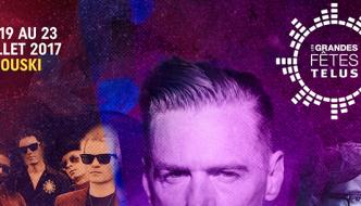 Grandes Fêtes TELUS 2017 à Rimouski : Bryan Adams et Sum 41 en tête d'affiche