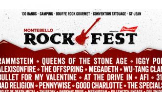 Rammstein, Queens of the Stone Age et Iggy Pop au Rockfest de Montebello